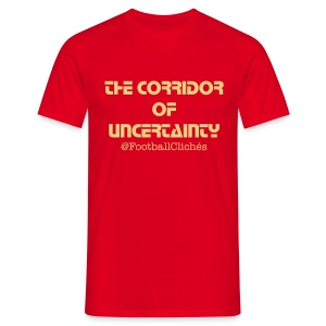 The Corridor of Uncertainty - Men's T-Shirt