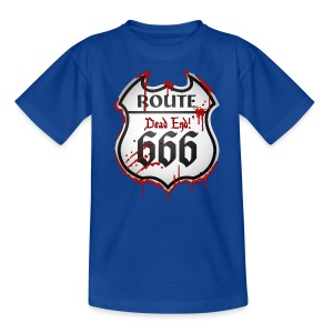 Route 666 (dd print) - Teenager T-Shirt