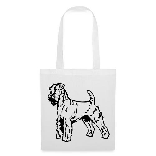 Koira-kangaskassi airdaleterrieri - Kangaskassi