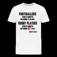 T-Shirts ~ Men's Premium T-Shirt ~ Footballers Pretend to Be Hurt
