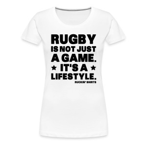 Not Just a Game - Women's Premium T-Shirt