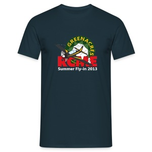 Greenacres RCM&E 2013 Fly-in T shirt  - Men's T-Shirt