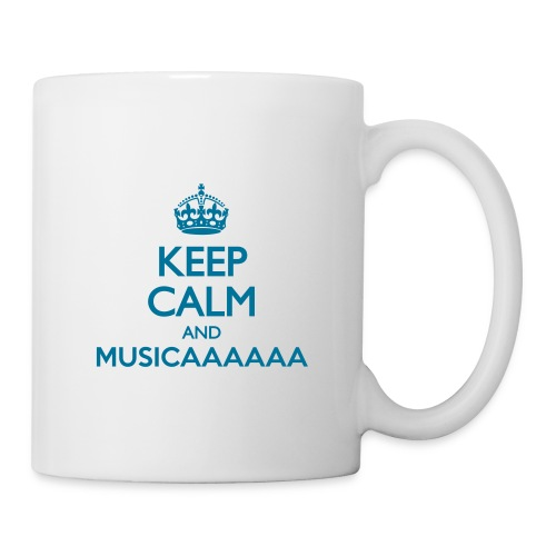 Tazza - Keep Calm and Musica - Tazza