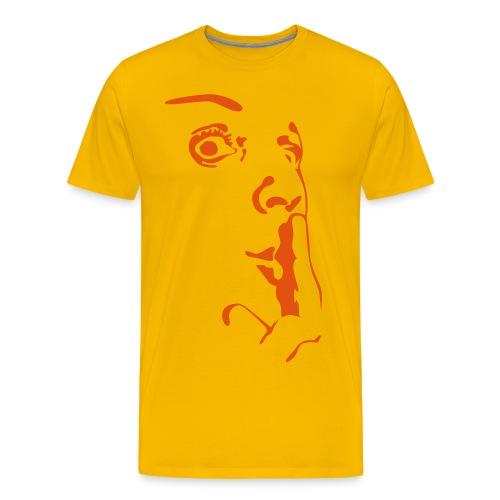 Stirt der Stille - Männer Premium T-Shirt