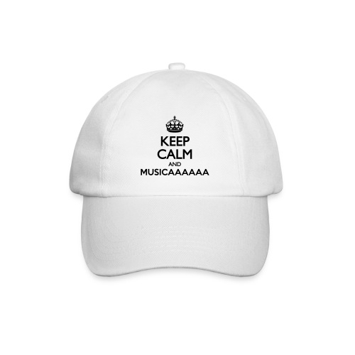 Cappellino - Keep Calm and Musica - Cappello con visiera