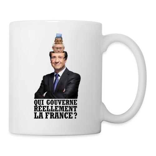 MUG qui gouverne réellement la France? - Mug blanc