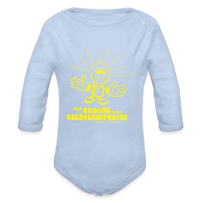 Mehr Bildung durch GS (Baby Langarm Body)