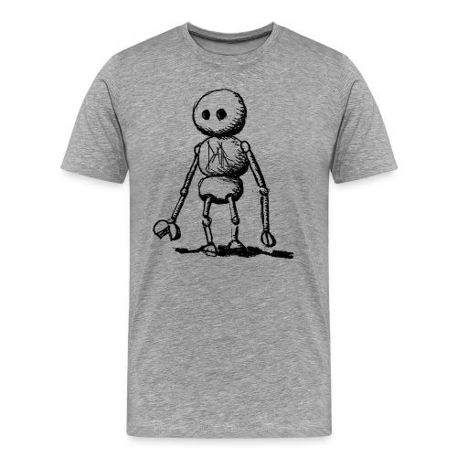 Alone Robot - T-shirt Premium Homme