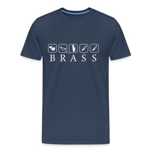 Brass - Männer Premium T-Shirt