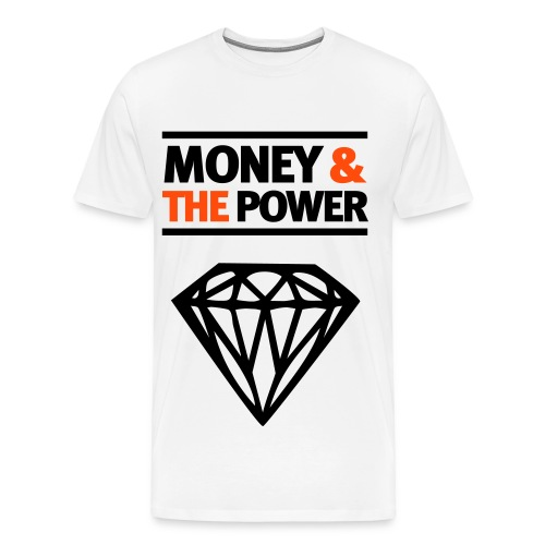 Money & the power - Mannen Premium T-shirt