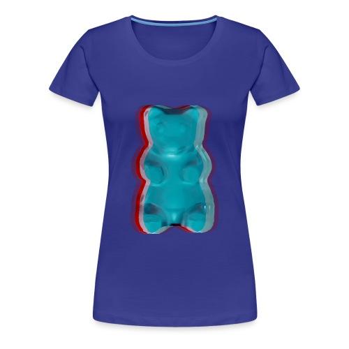 3D Gummy Bear - Women's Premium T-Shirt