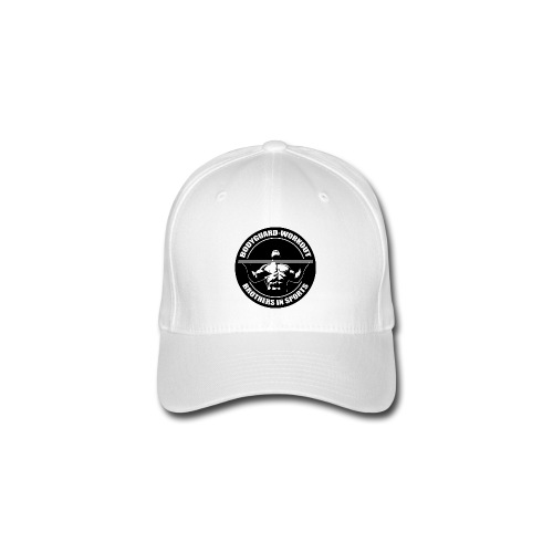slim fit shirt with frontprint - white - Flexfit Baseball Cap