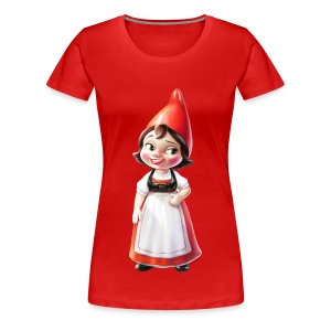 Juliet Adult Ladies T-Shirt from Gnomeo and Juliet the Movie - Women's Premium T-Shirt