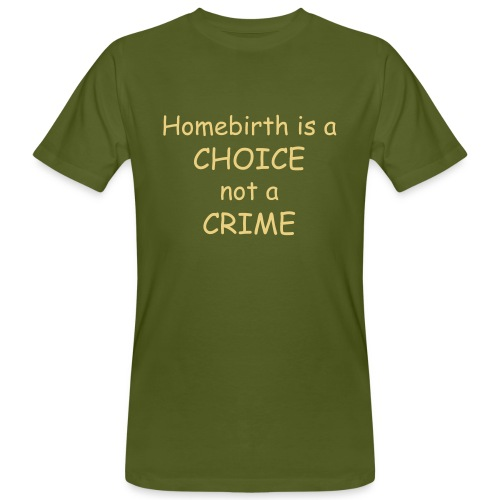 Homebirth - Männer Bio-T-Shirt