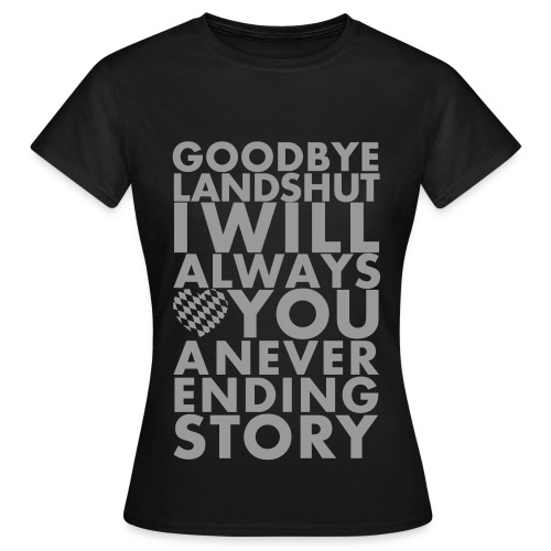 Goodbye LA Diskokugel Druck - Frauen T-Shirt