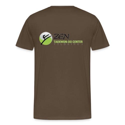 Männer Premium T-Shirt, Motiv vorne & hinten - Männer Premium T-Shirt