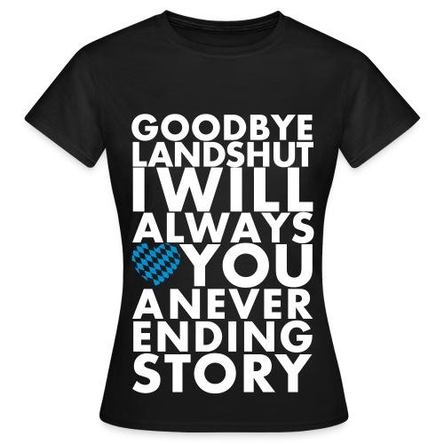 Goodbye LA - Frauen T-Shirt