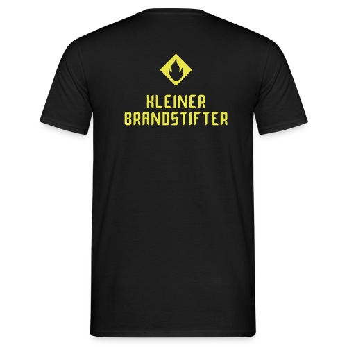 Herrenshirt Kleiner Brandstifter - Männer T-Shirt