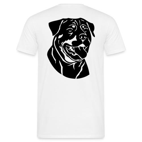 T-shirt simple Rottweiler - T-shirt Homme