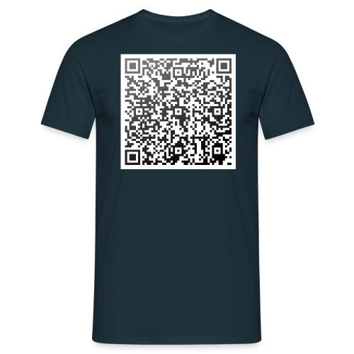 QR-Shirt: Joh 3,16 HFA - Männer T-Shirt