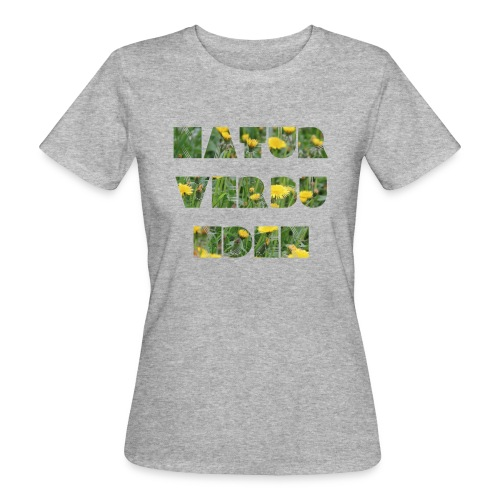 Naturverbundenes Frauen Bio-Shirt - Frauen Bio-T-Shirt