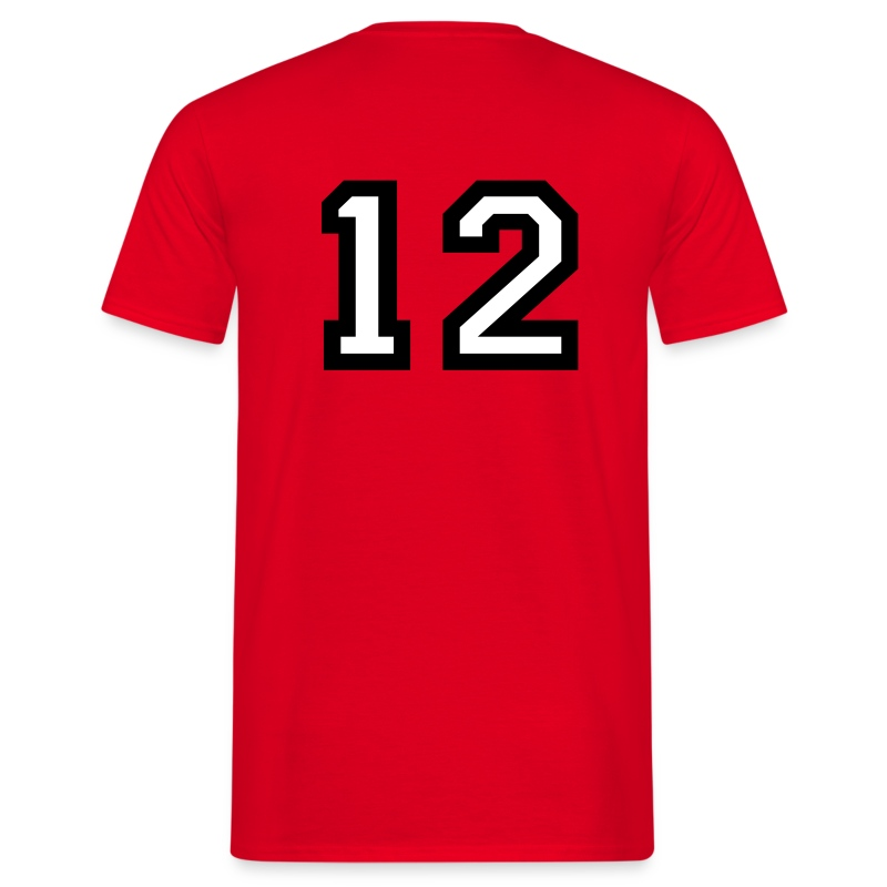 the number 12   number twelve t shirt spreadshirt