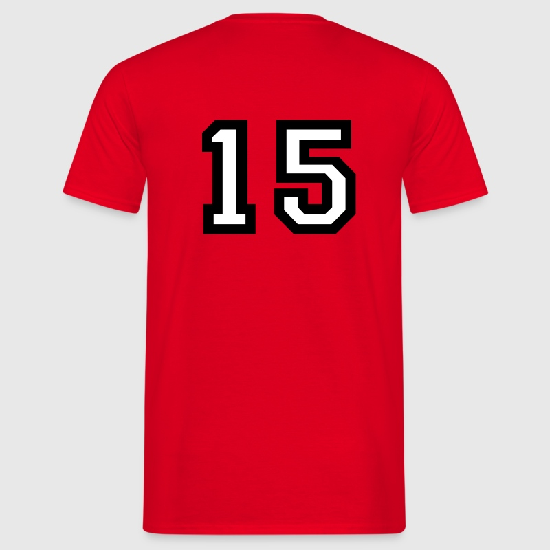 Number15 T-Shirt - Men's T-Shirt