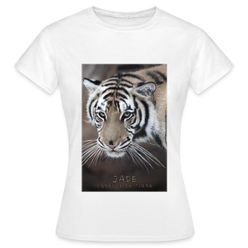 T-Shirt Femme portrait Jade - T-shirt Femme