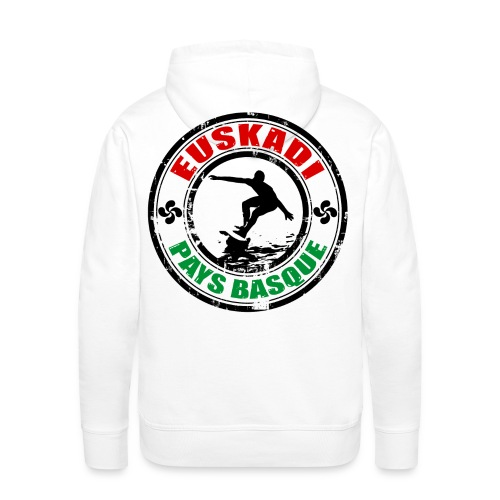 Euskadi - basque surfing - Men's Premium Hoodie