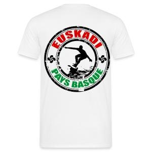 Euskadi - basque surfing - Men's T-Shirt