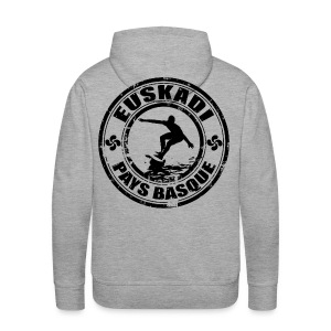 Euskadi - basque surfing - Men's Premium Hoodie