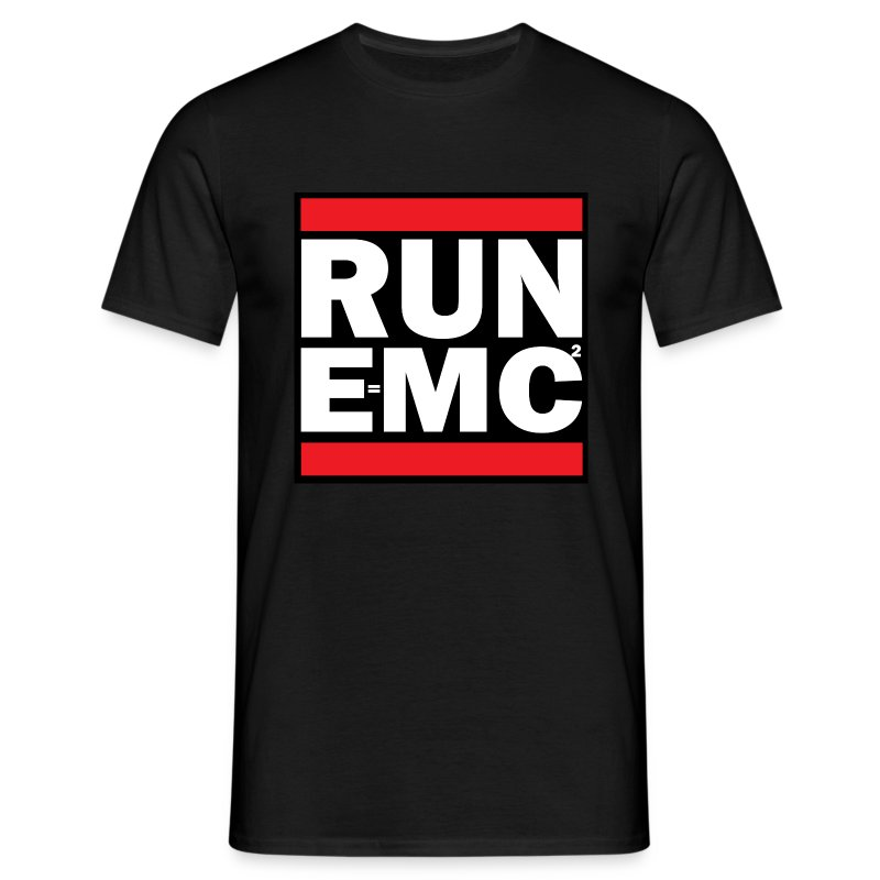 RUN EMC2 - Men's T-Shirt