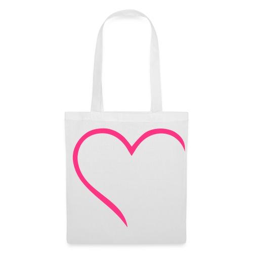 Sac course coeur - Tote Bag