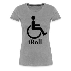 iRoll Girls - Women's Premium T-Shirt