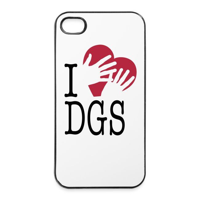 "iPhone-Hülle (iPhone 4/4s) ""I love DGS"""