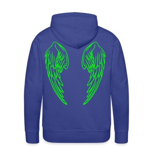 hoodie with angel wings - Men's Premium Hoodie