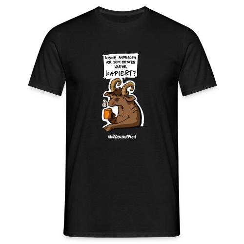 Morgenmufflon - Männer T-Shirt