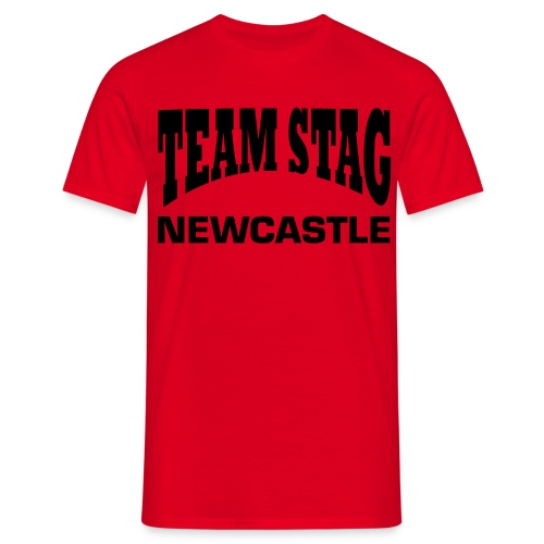 Mens Team Stag Newcastle - Men's T-Shirt