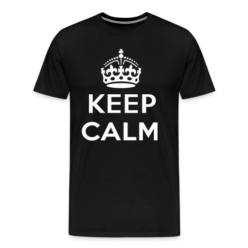 CeepCalmAnd LoveJustinBieber - Mannen Premium T-shirt
