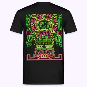Viracocha 2-side: Men Classic Shirt - Mannen T-shirt