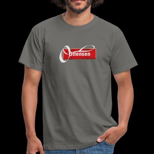 Ottensen Ortsschild mit Tattoo-O, T-Kiezshirt - Männer T-Shirt