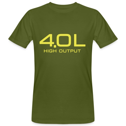 4.0 Litre High Output - Men's Organic T-Shirt