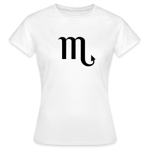 Zodiac sign Scorpio t-shirt - Women's T-Shirt