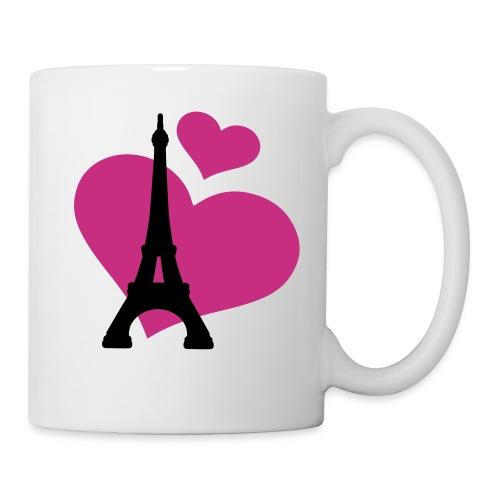 Tasse Paris love - Mug blanc