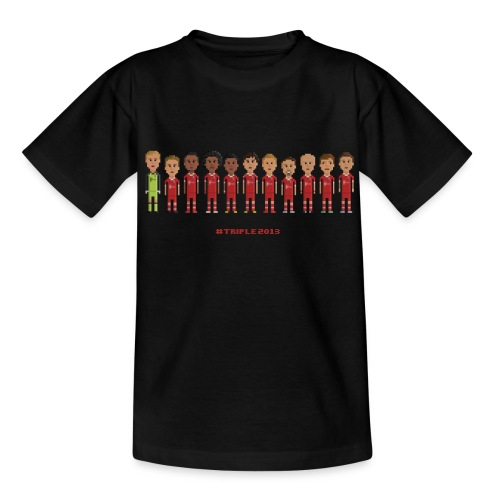 Teen T-Shirt - Treble Champions 2013 - Teenage T-Shirt
