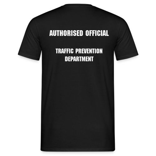 Authorised Official Traffic Prevntion Department - Mens - Men's T-Shirt