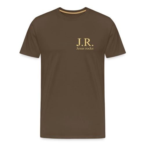 J.R. Jesus Rocks - Männer Premium T-Shirt