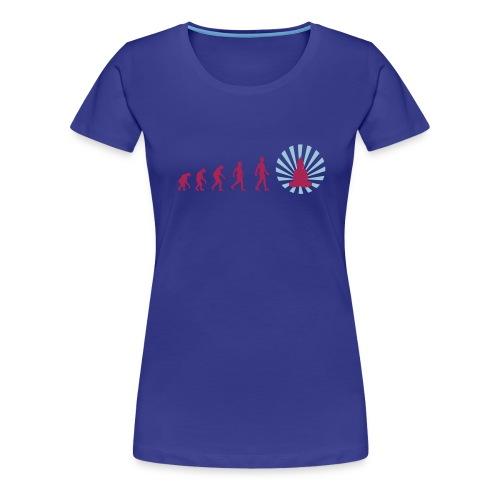 rEvoluzione blue - Maglietta Premium da donna