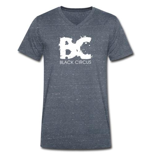 BC-Shirt V, Logo front & back - Männer Bio-T-Shirt mit V-Ausschnitt von Stanley & Stella