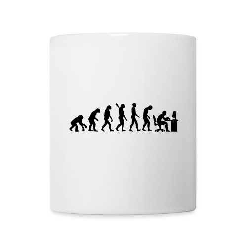 Tasse Evolution de L'homme - Mug blanc